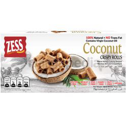 Zess Coconut Crispy Roll 75gm