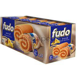 Fudo Tiramisu Flavours Swiss Cake Roll 24x18gm