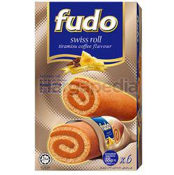 Fudo Tiramisu Flavours Swiss Cake Roll 6x18gm