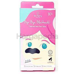 Au Fairy Bye Bye Blackheads Charcoal Nose Pore Strip 10s