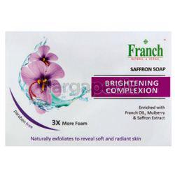Franch Brightening Complexion Saffron Soap 3x100gm