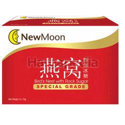 New Moon Special Grade Bird's Nest With Rock Sugar 6x75gm