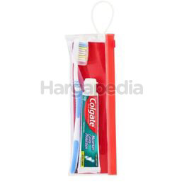 Colgate Fresh Cool Mint Toothpaste 50gm + Extra Clean Toothbrush Travel Kit 1set