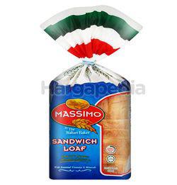 Massimo White Sandwich Loaf 400gm