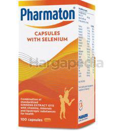 Pharmaton Capsules with Selenium 100s