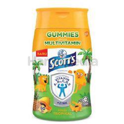 Scott's Multivitamin Gummies Tropical 60s