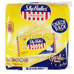 Sky Flakes Cracker Garlic 10x25gm