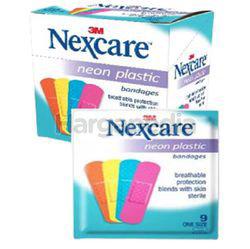 3M Nexcare Neon Plastic Bandages 10s