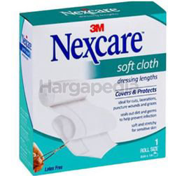 3M Nexcare Waterproof Soft Cloth Roll Dressing 1s