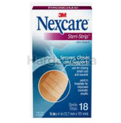 3M Nexcare Steri-Strip Skin Closure 18s