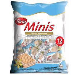 Torto Minis Cubes Vanilla Flavoured 120gm