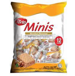 Torto Minis Cubes Hazelnut Flavoured 120gm