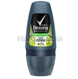 Rexona Men Deodorant Roll On Fresh Lime 50ml