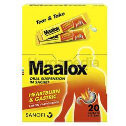 Maalox Suspension 20x4.3ml