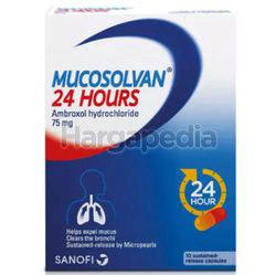 Mucosolvan 24hours Capsules 10s