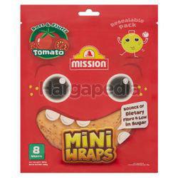 Mission Mini Wraps 8 Wraps Tomato 300gm