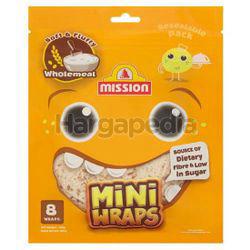 Mission Mini Wraps 8 Wraps Wholemeal 300gm