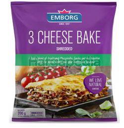 Emborg 3 Cheese Bake 200gm