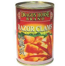 Dragon Horse Razor Clams in Brine 425gm