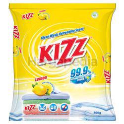 Kizz Detergent Powder Lemon 800gm