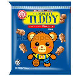 Hup Seng Ping Pong Chocolate Teddy Biscuit 90gm