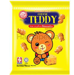 Hup Seng Ping Pong Cheese Teddy Biscuit 90gm