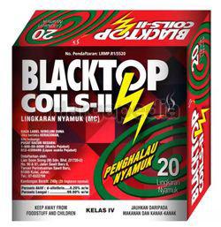Blacktop Mosquito Coils 20s