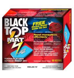BlackTop Mosquito Mat 60's Free Heater Starter Pack 1set