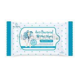 Au Fairy Anti Bacterial Fragrance Free Wet Wipes 10s