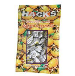 Hacks Candy Honey Lemon 50gm