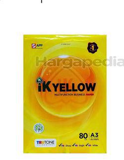 IK Yellow A3 Paper 80gm 450s
