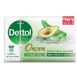Dettol Bar Soap Onzen Moisturizing 3x100gm