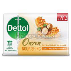 Dettol Bar Soap Onzen Nourishing 3x100gm