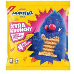 Mamee Monster Xtra Krunchy BBQ Boom 4x25gm