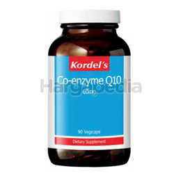 Kordel's Co-Enzyme Q10 60mg 90s