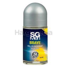 SG Men Flower Deodorant Roll On Men Brave 45ml