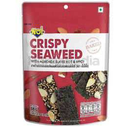 NOi Crispy Seaweed With Almond Slice Hot & Spicy 18gm
