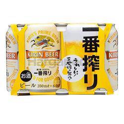 Kirin Ichiban Can 6x350ml