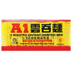 A1 5 Minutes Instant Wonton Mee 360gm