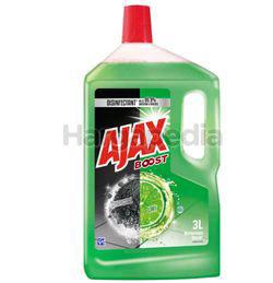 Ajax Boost Floor Cleaner Charcoal & Lime 3lit