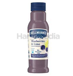 Hellmann's Salad Dressing Blueberries & Lime 210ml
