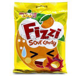 Lot 100 Fizzi Sour Mango Candy 120gm