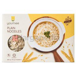 Youmee Plain Noodles 6x70gm