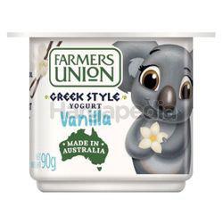 Farmers Union Vanilla Greek Style Yogurt 90gm