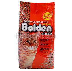 Golden Cat Food Seafood, Chicken, Vegetable 3kg