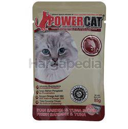 Power Cat Cat Food Fresh Sardine & Tuna 85gm