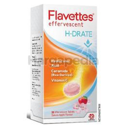Flavettes Effervescent H-Drate 30s