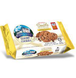 Torto White Castle Crispy Double Choc Chip Cookies 120gm