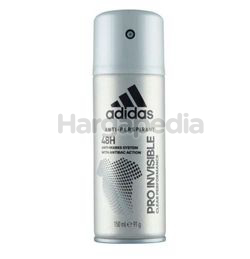 Adidas Men Deodorant Spray Pro Invisible 150ml