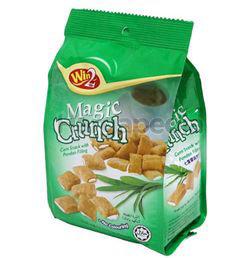 Win2 Magic Crunch Corn Snack With Pandan Filling 70gm